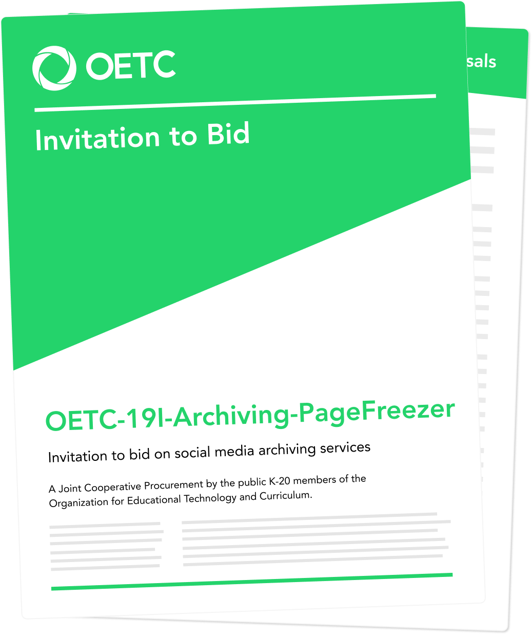 OETC Contract