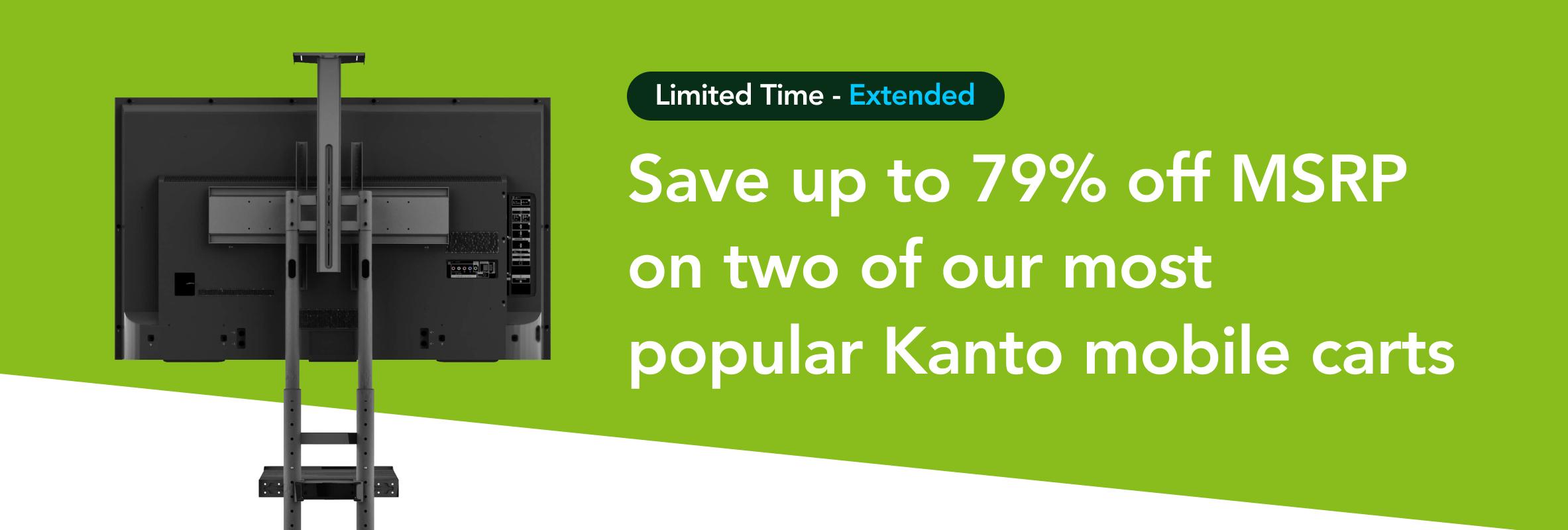 Kanto Carts on sale until Jan. 24, 2020