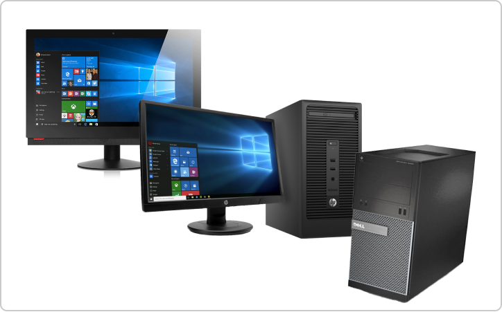 Desktops and all-in-ones contract