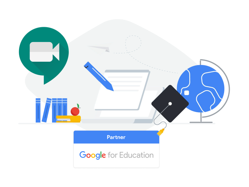 Google meet with G Suite enterprise for education