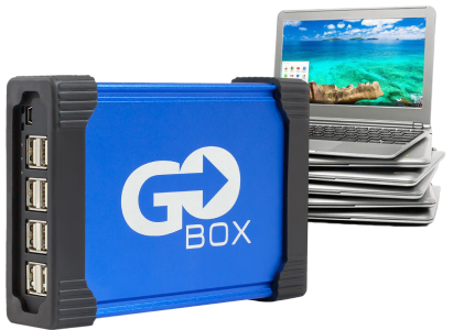 Go-box with OETC Chromebooks