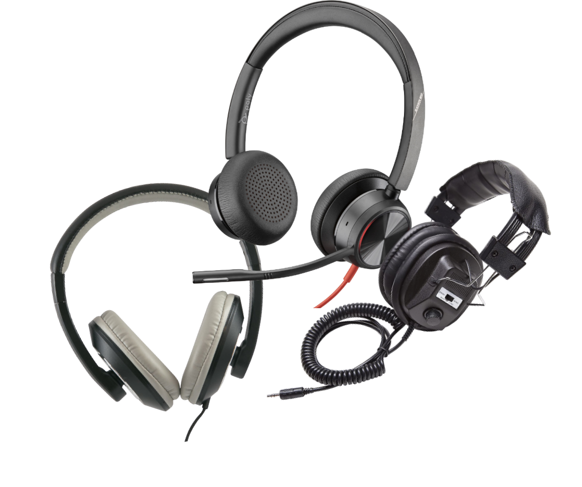 headsets with OETC Chromebooks
