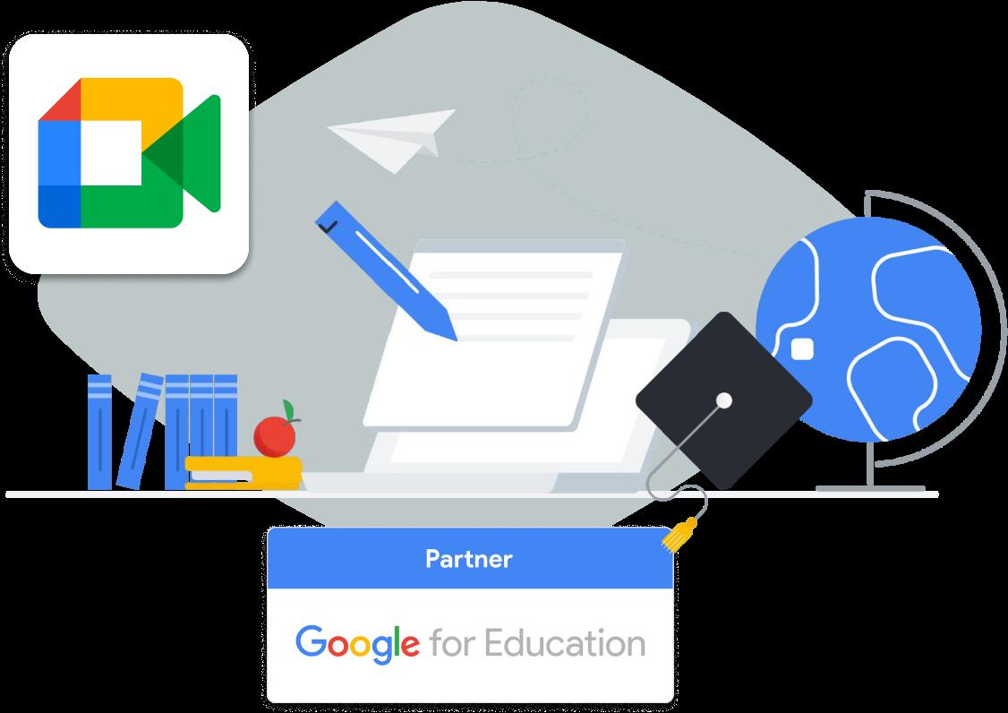 Google Meet with OETC