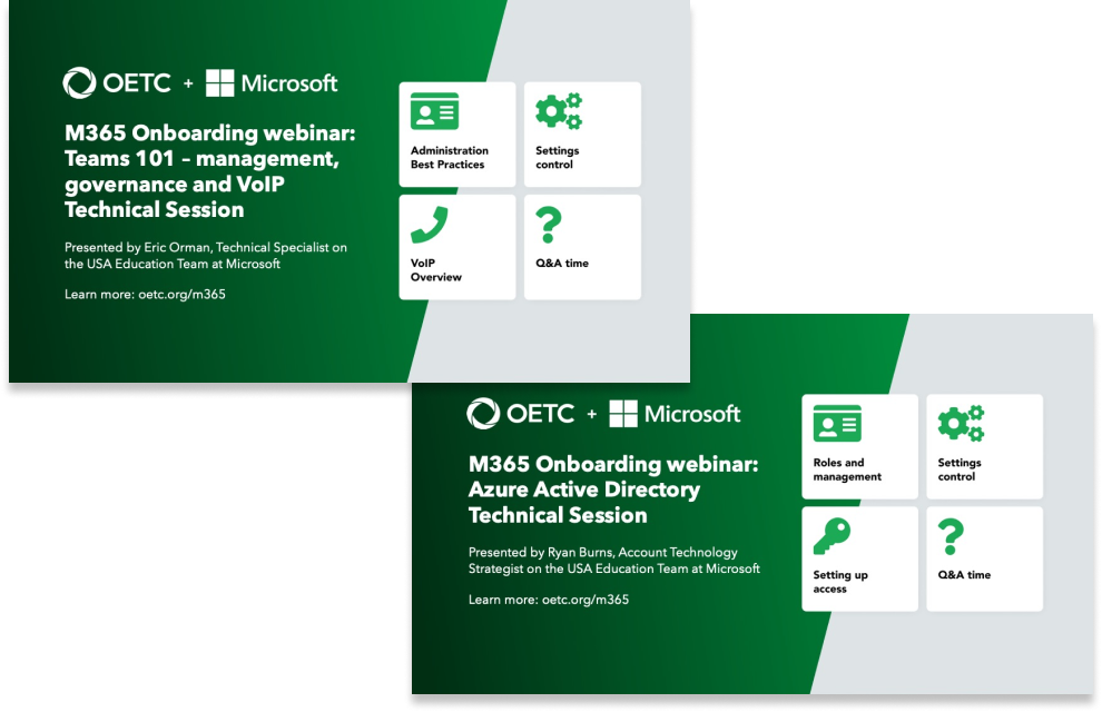 Microsoft trainings
