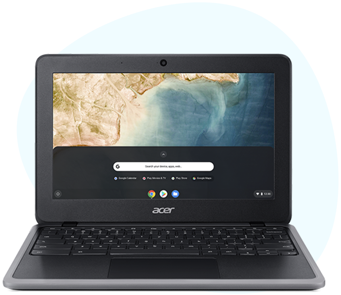 Delivery options for Chromebook deployment with white glove services