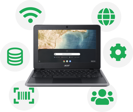 Chromebook white glove services with OETC