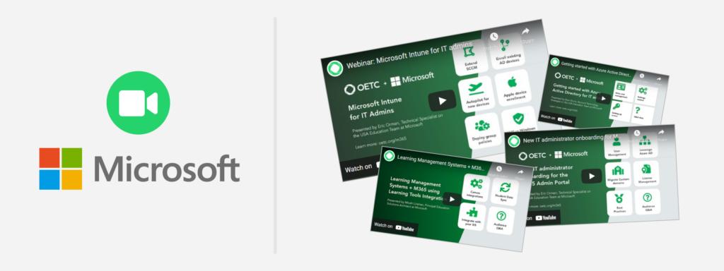 OETC and Microsoft trainings and webinars